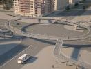 70 elevated pedestrian crossings