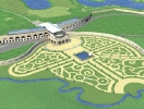 A huge golf course will be built in St. Petersburg