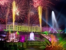 Closing Ceremony of Peterhof fountains