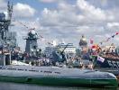 Naval Parade in St. Petersburg