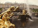 Peterhof fountains opening 2013