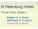 St Petersburg Hotels