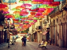 Street Of Floating Umbrellas Will Appear In St. Petersburg This Summer