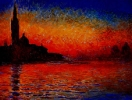 Venice Twilight by Claude Monet