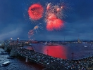 Victory day fireworks 2013