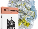Crumpled City Map | St-Petersburg