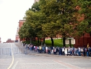Queue to see Lenin.....Moscow